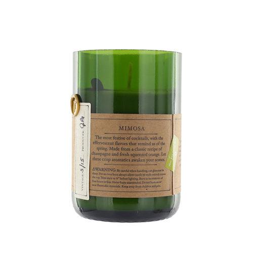 bougie rewined, parfum mimosa