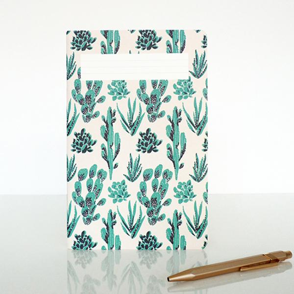 carnet cactus season paper