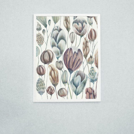 Poster fleuri printemps