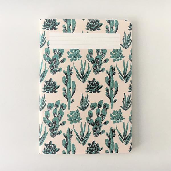 carnet cactus végétal de la marque de papeterie française Season paper