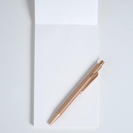 intérieur du carnet le marque de papeterie française écolo season paper