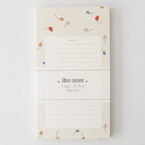 bloc notes season paper mobile tout doux et poétique