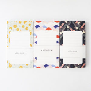 trio de bloc notes season paper