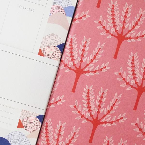 zoom sur les details de la papeterie made in france season paper