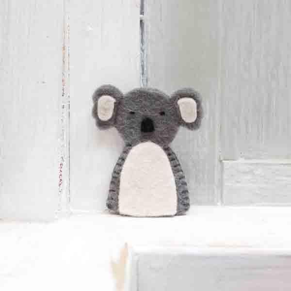 petit koala en feutrine