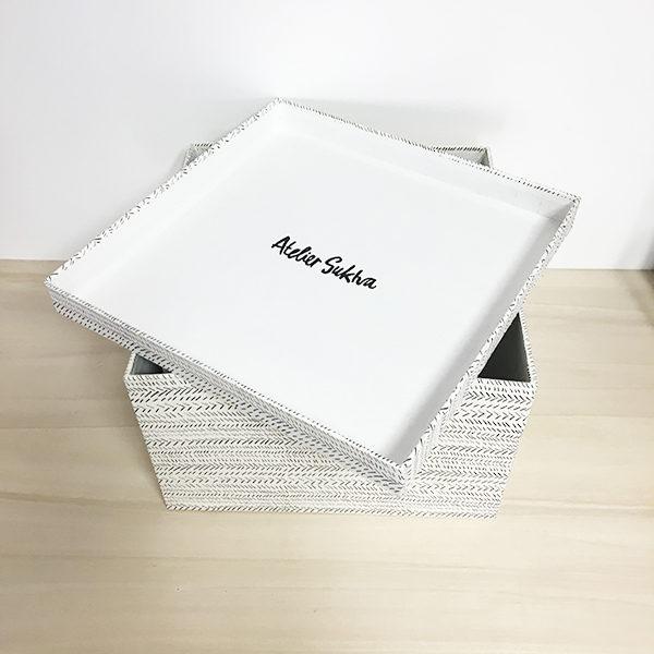 grande boite en papier