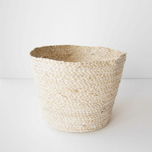 panière en feuille de maïs recyclé